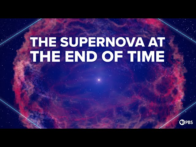 The Supernovae At The End of The Universe