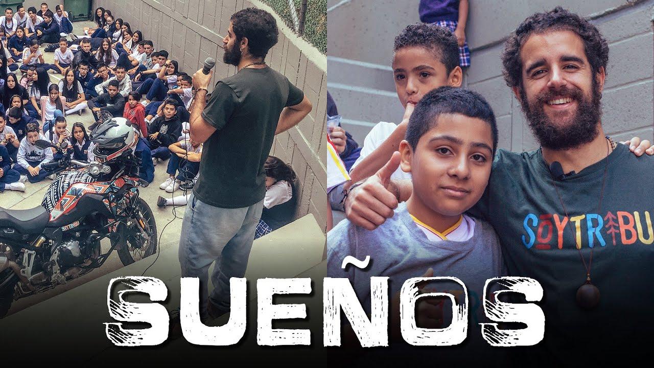 CUMPLO el SUEÑO de NIÑOS COLOMBIANOS en ENVIGADO (MEDELLÍN) |Episodio 97 - Vuelta al Mundo en Moto