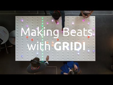 GRIDI  Making beats on the worlds largest midi sequencer