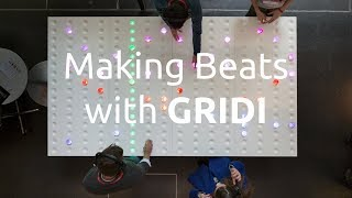 GRIDI - Making beats on the world's largest midi sequencer