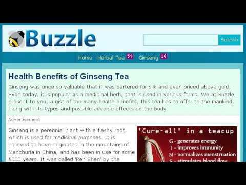 The Health Benefits Of Ginseng Tea
