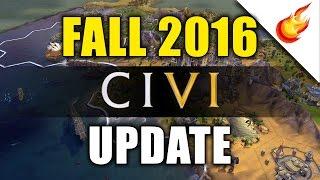 CIVILIZATION VI 2016 Fall Update - No More Gold For Deleting Units!
