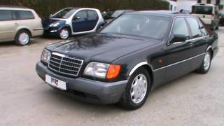 1993 Mersedes S 500 SE Review,Start Up, Engine, and In Depth Tour