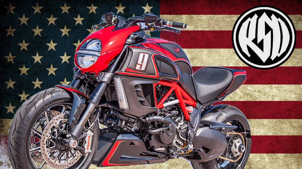 Ducati Diavel KH9 by Roland Sands Design