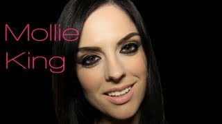 Mollie King The Saturdays Makeup Tutorial (Gentleman Music Video)