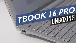 Teclast Tbook 16 Pro Unboxing And First Look