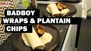 Whippin In Da Kitchen (Cooking Show) [Ep 7] Badboy Wraps & Plaintain Chips | Grime Report Tv