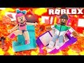 DON'T TOUCH THE LAVA CHALLENGE IN ROBLOX