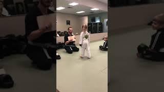 Karate 👊 Great job sweetie 👏