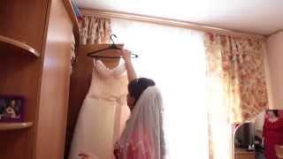 Свадьба в стиле Love is - утренние сборы жениха и невесты