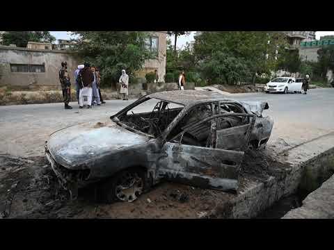 Download Top News - Sulmi me dron në Kabul/ SHBA heton viktimat civile, u shua një familje e tërë