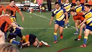 Tashir Newsome-Smith Rugby Highlights