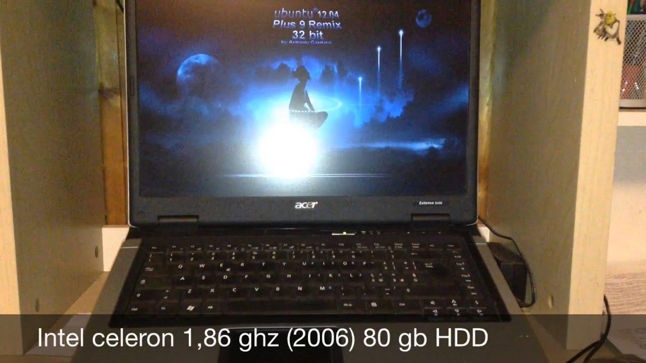 Acer Extensa 5200 Notebook Linux
