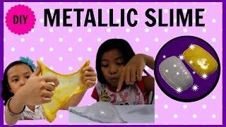 METALLIC SLIME !!! MUDAH TANPA CAT METALIK | EASY WITHOUT METALLIC PAINT