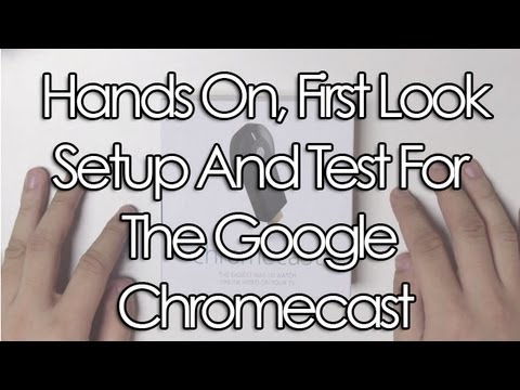 Chromecast in First Test