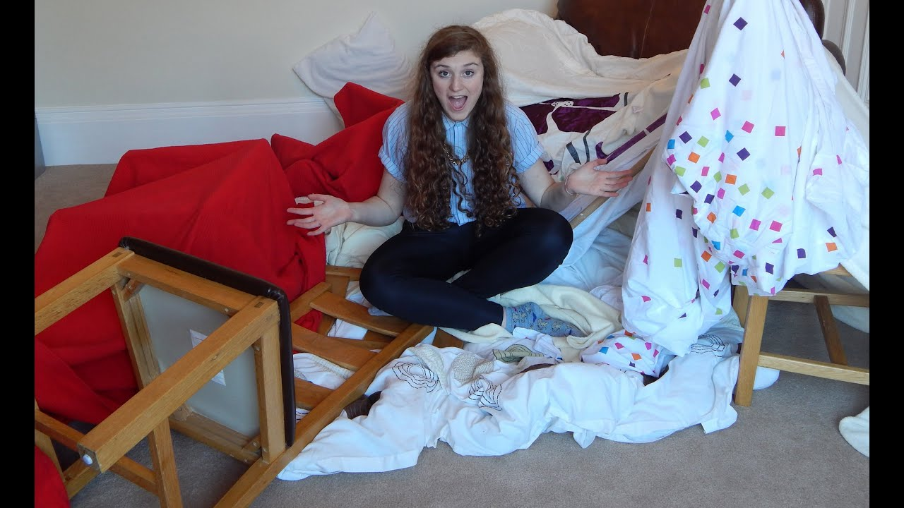 how to: make a blanket fort - youtube