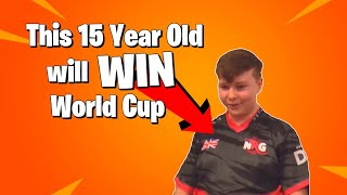 HOW THIS 15 YEAR OLD WILL WIN FORTNITE WORLD CUP (BenjyFishy)