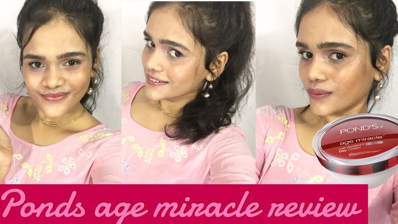 Ponds Age Miracle Day Cream Review 8 Ways To Use It Youtube