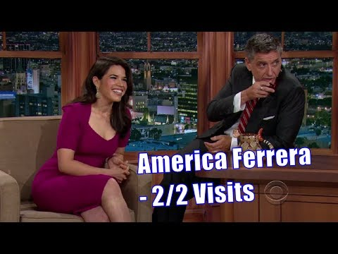 America Ferrera  Touches Craig's Peepee Metaphorically  22 Visits In Chronological Order