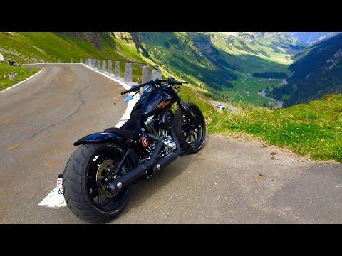 Harley Davidson on Mountains