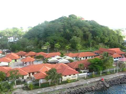 Harbour at Castries, St. Lucia