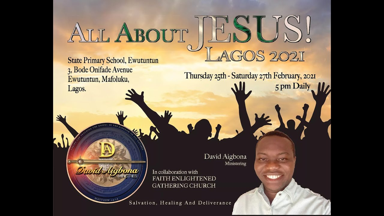 Lagos 2021. Day 3.  National repentance