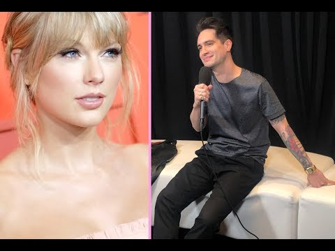 """Brendon Urie talks Taylor Swift and what to expect for their """"ME"""" performance at the BBMAs"""