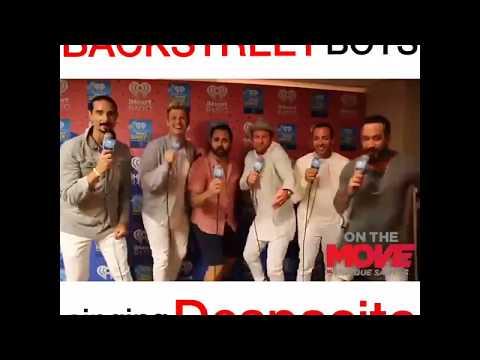 Backstreet boys sing Despacito!😎