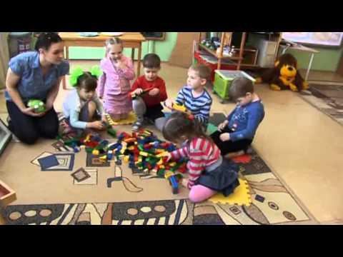 Организация образовательной деятельности по лего-конструированию в средне группе