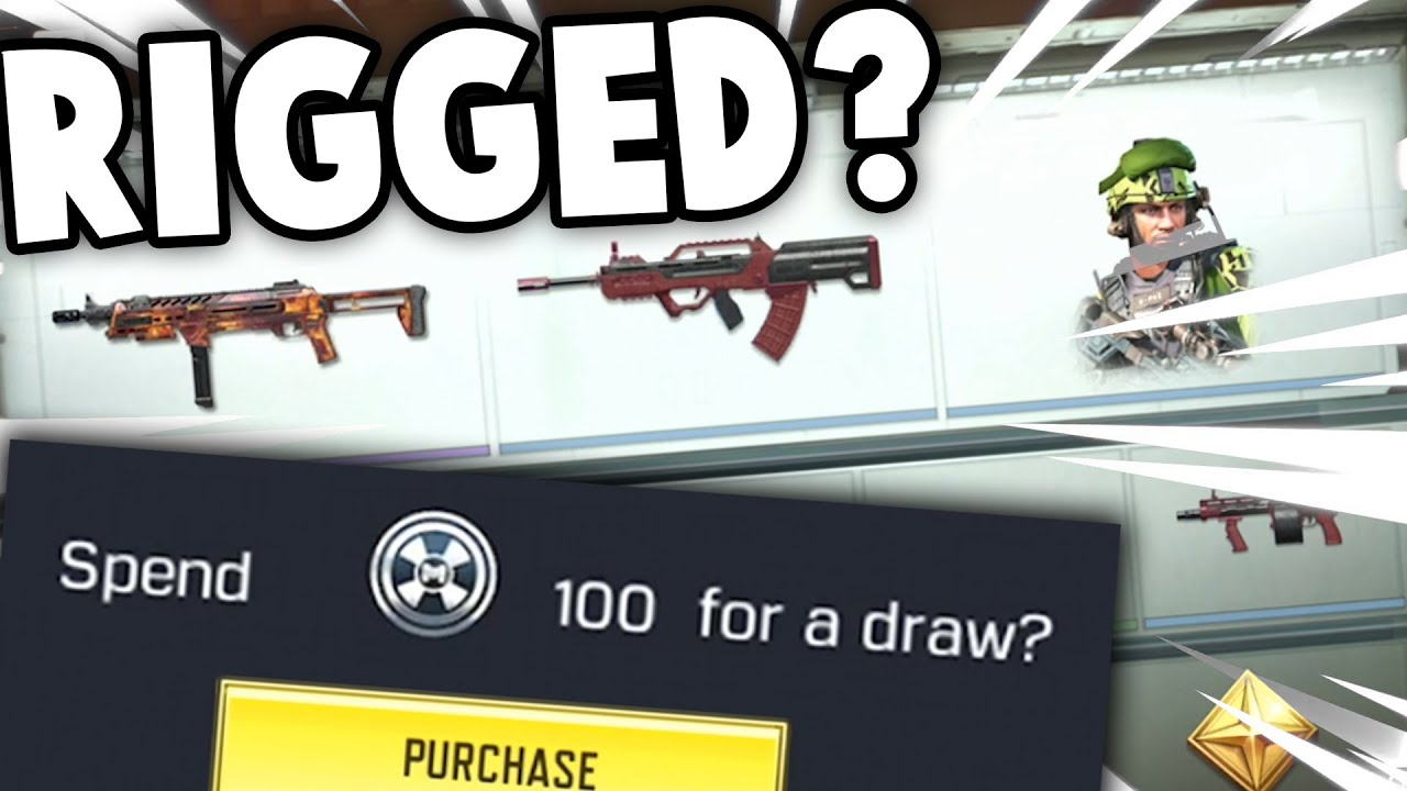 Free Lucky Draw Rigged!? - What do you get for 100 Lucky Coupons? - COD Mobile