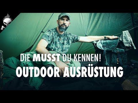 Must see OUTDOOR & BUSHCRAFT AUSRÜSTUNG – Grüße an U. Dehler, Jurtenland, GroundGear u. Grüezi Bag