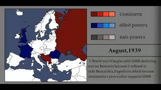Alternative World War II: Every month
