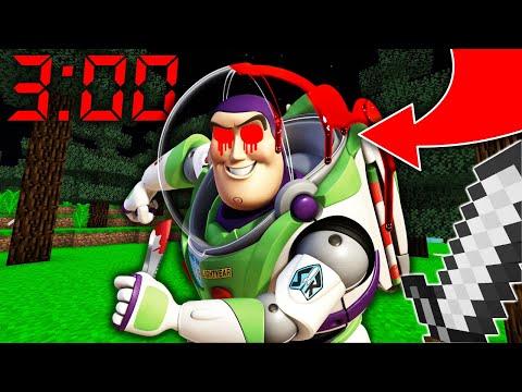 NE JAMAIS FAIRE SPAWN BUZZ L'ÉCLAIR À 3H00 DU MATIN MINECRAFT ! Toy Story 4 !