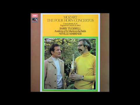 Mozart, Horn Concerto No 1 and No 2, French Horn -- Barry Tuckwell