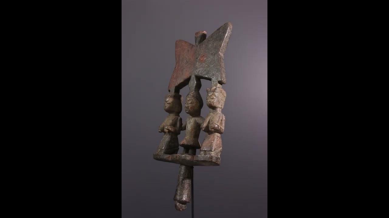 Download Art africain  - Sceptre Osé Sàngo Yoruba