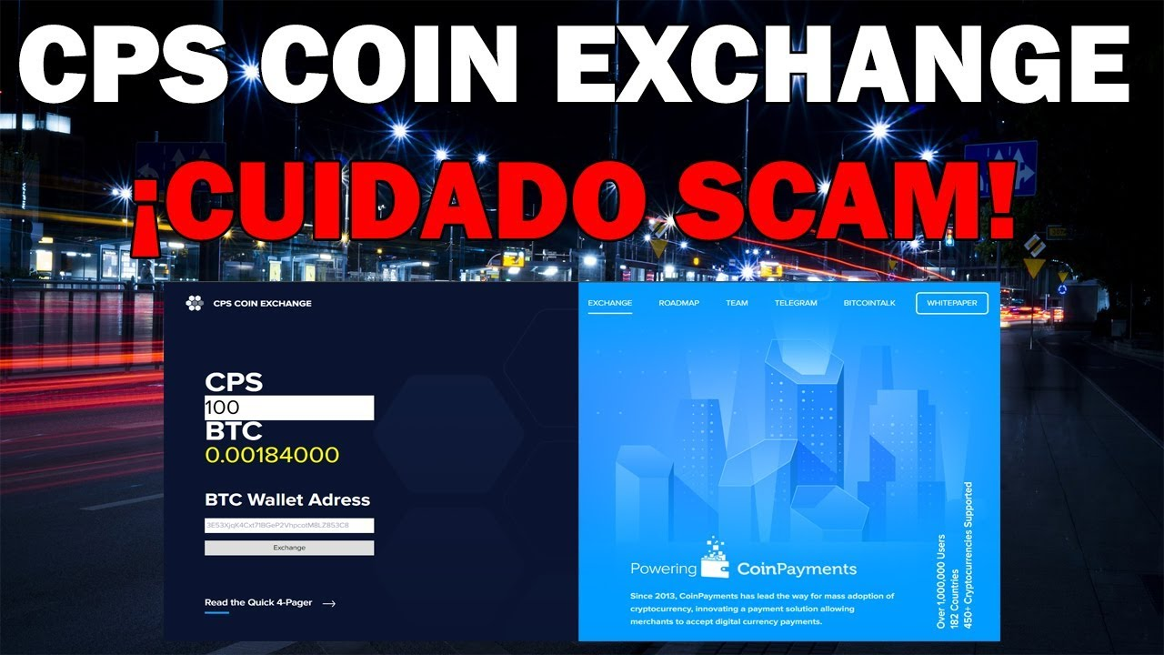 cps coin exchange