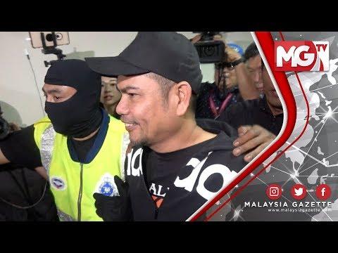 TERKINI : Jamal Yunos Diiring Anggota Polis Tiba di Mahkamah Ampang