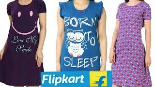 Unboxing Flipkart Short Nighties Flipkart Short Nighty Haul Worth For Money Flipkart online