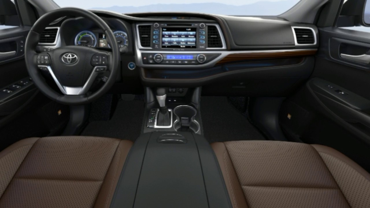 2014 Toyota Highlander Interior Pictures