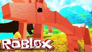 "Dinosaur Simulator ""Roblox"" (Gameplay/PT-BR) - Meu Filho Feioso ""Diplodocus"" (#16)"