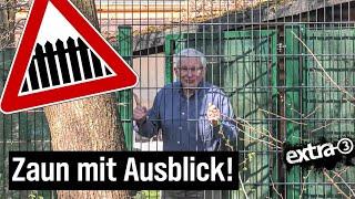 Realer Irrsinn: Stadt Wuppertal zäunt Anwohner ein