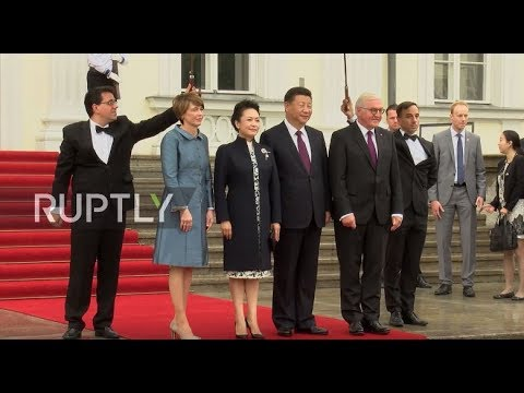 Germany: Steinmeier receives Jinping in Berlin ahead of G20 summit