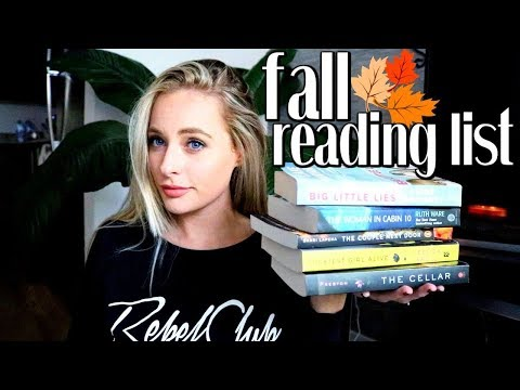 2017 FALL READING LIST | MUST READ - Book Haul - Simply Ney