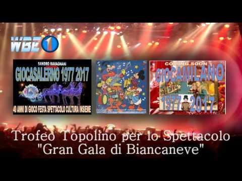 WBE TELEVISION GROUP 1 TROFEO TOPOLINO PER LO SPETTACOLO GRAN GALA DI BIANCANEVE