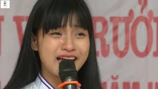 Bài phát biểu lấy đi nước mắt của hàng triệu người xem.
