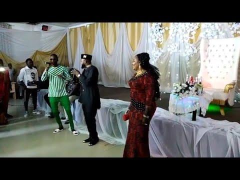 Adam A Zango da Ado Gwanja sun chashe a shagalin birthday din Halima Atete