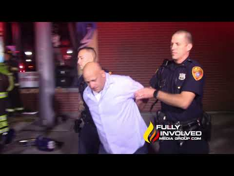 Patchogue,NY: Shirley Man Arrested for DWI after Crashing Vehicle into Building 09-29-18