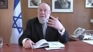 הרב ישראל מאיר לאו בשיחה על ספר שופטים