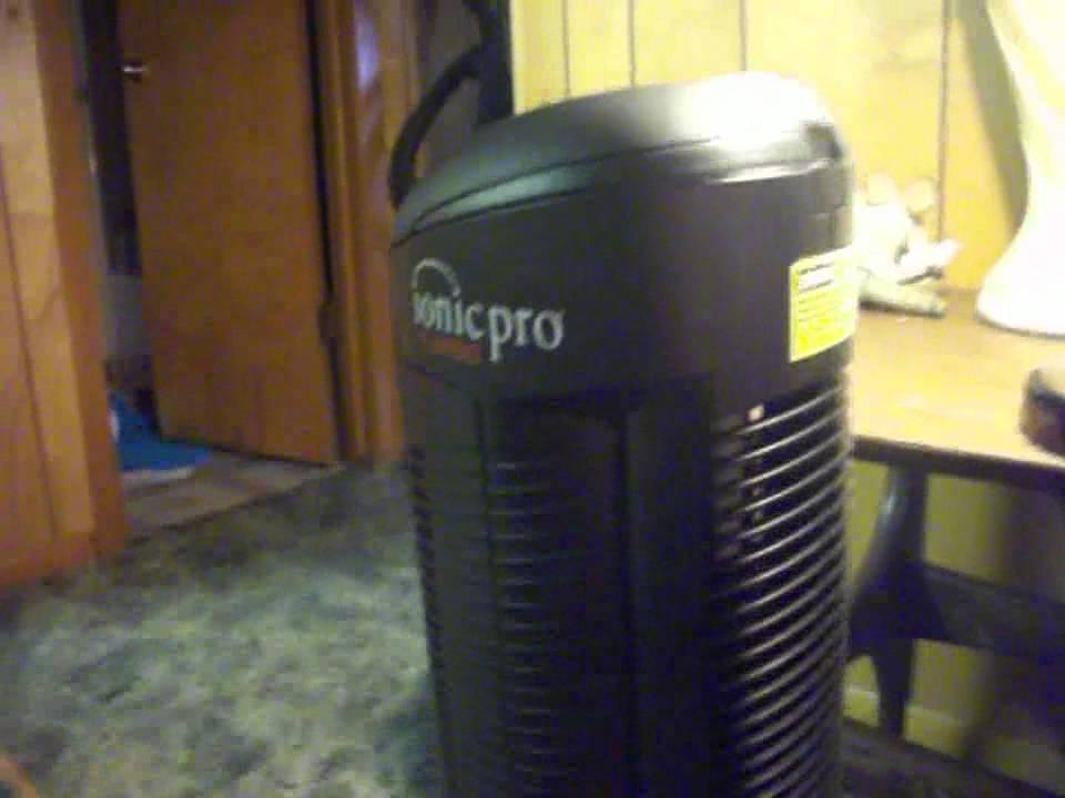 ionic pro air purifier smoke test