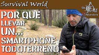 Smartphone Todoterreno Aermoo M1 ¿Por qué usar un Smartphone todoterreno?